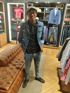 Bomber Jacket, Denim, Jackets, Fashion, Down Jackets, Moda, Fashion Styles, Fashion Illustrations, Bomber Jackets