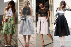 Saia midi, se apaixone por essa tendência - Site de Beleza e Moda