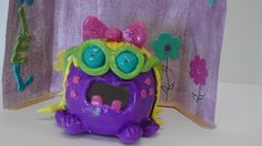 Ceramic pinch pot monster