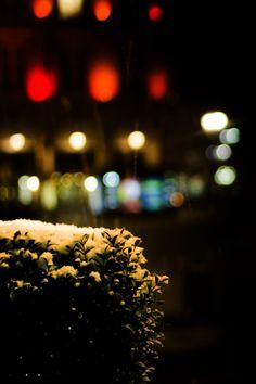 Paris under snow