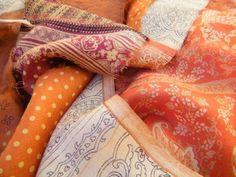 more Sari curtain fabric :)