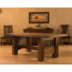 Adventure Mountain Dining Table