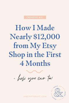 How to Start a Successful Etsy Shop - Crafts ideas 🤔