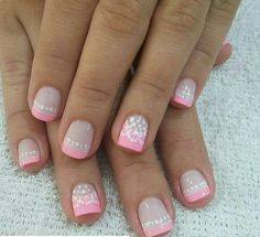 Nice Nails, Fun Nails, Manicure And Pedicure, Nail Art Designs, Hair Beauty, Album, Skin Care Products, Nail Art, Make Up