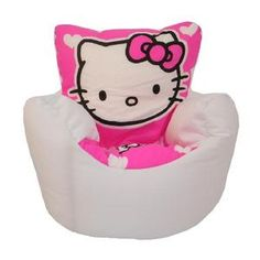 hello kitty kids furniture. hello kitty childrens bean bag chair beanbag kids cushion seat bedroom furniture o