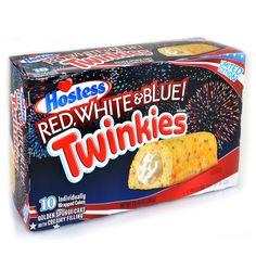 "Hostess Twinkies ""Red, White & Blue!"" 10er | Online kaufen im World of Sweets Shop"