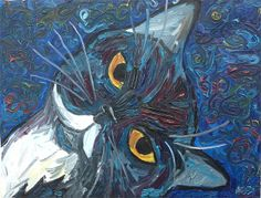Official website for expressionist oil painter Annie Swarm Guldberg, aka Oil Painter Annie. See original works, shows and events, and art for sale. Oil Painters, Art For Sale, Annie, Cats, Artist, Artwork, Painting, Gatos, Work Of Art