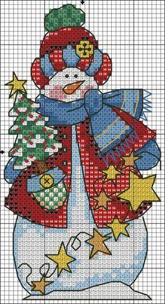 Letras feliz navidad en punto de cruz patrones y - Manteles para navidad ...