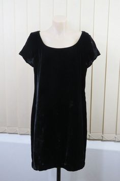 Size M 12 Country Road Ladies Black Dress Cocktail Vintage Gothic Timeless Style  | eBay