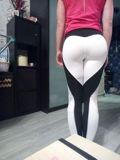 bb5ab81b3093b2 29 Best HEART SHAPED LEGGINGS images in 2018 | Workout clothes cheap ...