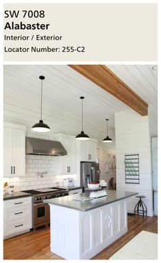 kitchens with large islands interior paint colors alabaster by sherwin williams 20226
