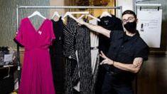Christian Siriano partners with thredUP to create thrifted NYFW looks | GMA Christian Siriano, Animal Print Rug, Soup Recipes, Thrifting, Create, Decor, Fashion, Moda, Decoration
