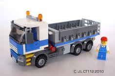 Le camion à benne basculante/vue générale