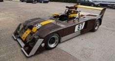 The ex-works 1974 Chevron 'Chocolate Drop' Hart Chassis # August 2014, Amazing Cars, Rally, Cars For Sale, Cool Cars, Tub, Engine, Chevron, Motorcycles