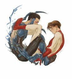 Bluepulse ~ One Shots Español~ Arte Dc Comics, Gay Comics, Young Justice, Teen Titans, Superman X Batman, Univers Dc, Blue Beetle, Batman Family, Detective Comics