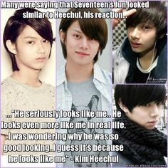 Heechul complimenting the Heecuhl way
