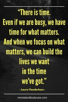 Don't forget that no one is too busy. It's all about priorities.