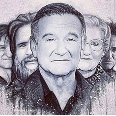 ...The Many Faces of Robin Williams?! ❤ #RIP