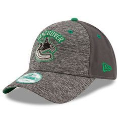 Vancouver Canucks New Era The League Shadow Adjustable Hat - Heathered Gray/Graphite Vancouver Canucks, Nhl, Fan Gear, Graphite, Baseball Hats, Gray, Stuff To Buy, Sports Teams, Fitness