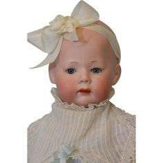 13 inch Antique Fany Character Doll 230 Armand Marseille molded Hair Orig Body; from Turn of the Century Antiques on Ruby Lane