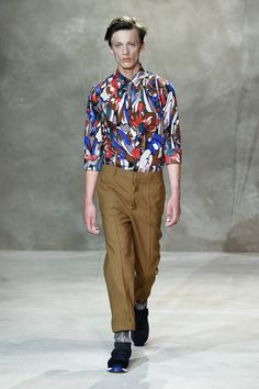 Marni Spring Summer 2016 Primavera Verano Collection - #Menswear #Trends #Tendencias #Moda Hombre Milan Fashion Week - D.P.