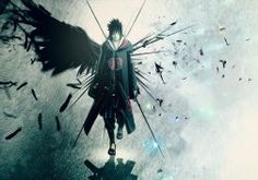 wings Uchiha Sasuke Naruto: Shippuden Akatsuki feathers artwork anime anime boys wallpaper