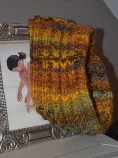 Cuello de lana Tejido por Entre Lanas y Agujas