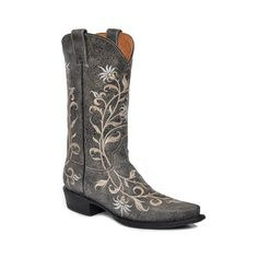 Stetson Women's Floral Western Boots