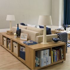 5 Clever Ideas to Use Your Living Room for Storage - http://www.amazinginteriordesign.com/5-clever-ideas-use-living-room-storage/