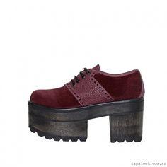 L'TAU – Zapatos con plataformas invierno 2015
