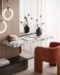 Makeup table by the window Interior Design Inspiration, Home Interior Design, Interior Architecture, Residential Architecture, Chinese Interior, Office Interiors, Interiores Design, Modern Bedroom, Decoration