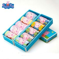 Aliexpress Birthday Gifts For Kids, Kids Socks, Cotton Socks, Peppa Pig, Cute Boys, Autumn, Toys, Children, Spring