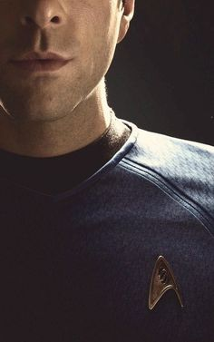 Spock (Quinto) - All I want is this shirt. And preferably the man wearing it :p