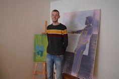 Kunstenaar Pieter Duyck zet de deuren van zijn atelier in Wingene open - Samenleving - KW Painting, Art, Atelier, Shop Signs, Art Background, Painting Art, Kunst, Paintings, Performing Arts