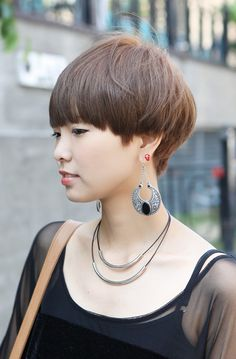 Short Hairstyles | ... Short Hairstyle – Stylish Helmet Haircut for Women | Hairstyles