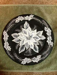 White ponsettia
