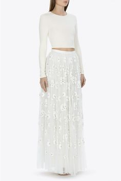 NEW BRIDAL options from the very cool Needle and thread collection #wedding #dress #cool