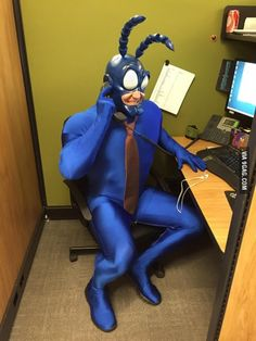 The Tick #cosplay | Company's costume contest...