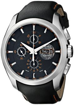 Tissot Men's T0356141605101 Valijoux Chronograph Watch