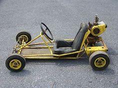 Vintage McCulloch Race Kart Complete with Engine Mini Motorbike, Mini Bike, Vintage Go Karts, Vintage Cars, Go Kart Designs, Go Karts For Sale, Go Kart Frame, Images Emoji, Electric Car Conversion