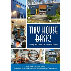 In just two months our Debut Book Tiny House Basics: Living the Good Life in Small Spaces will hit book stores! Now is your chance to preorder it for a huge discount at Amazon Target Barnes & Noble Books-a-Million to name a few. Click the link in our profile to preorder! Every preorder will get $200 off any Tiny House Trailer order from @tinyhousebasics Tiny House Basics is an adventure in off grid living! In their debut book tiny house living experts Shelley and Joshua Engberg show you how…