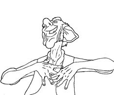 BFG Coloring Pages - Best Coloring Pages For Kids Tree Coloring Page, Disney Coloring Pages, Coloring Pages For Kids, Bfg Movie, Disney Movies, Disney Characters, Greatest Adventure, School, Books
