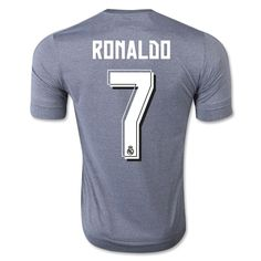 Real Madrid 15/16 Authentic RONALDO 7 Away Soccer Jersey