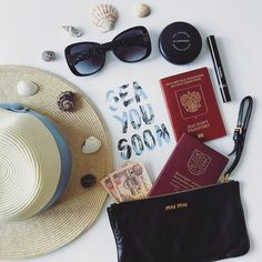 """16 Likes, 3 Comments - @styletoenjoy on Instagram: """"Turning boring packing into an art form • • • • • #styletoenjoy #traveling #vacationtime…"""""""