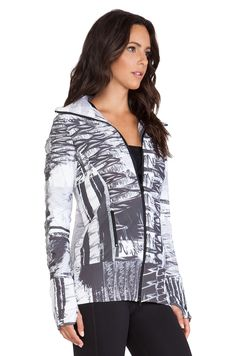 Vimmia Zip Jacket in Abstract Brush | click through to shop