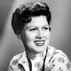 """Patsy Cline was a celebrated country singer best known for her crossover hits, including """"Crazy"""" and """"Walking After Midnight.""""  1932-1963"""