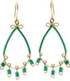 "Jewellery Making Tutorial Video - How to Make the ""Blarney Earrings"""