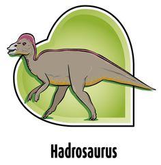 Hadrosaurus gevonden in Maastricht - Rim Beckers   www.kartoon.nl