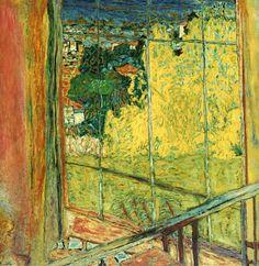 Pierre Bonnard, L'Atelier au mimosa, (Musée national d'Art Moderne, Paris) Pierre Bonnard, Henri Matisse, Claude Monet, Contemporary Artists, Modern Art, Culture Art, Edouard Vuillard, Post Impressionism, Paul Gauguin