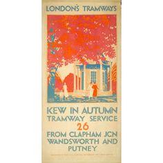Kew in autumn - Leslie R Porter (1925)